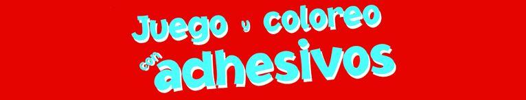 <div>Juego y coloreo con adhesivos</div>