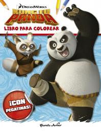 Kung Fu Panda. Libro para colorear