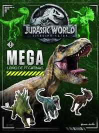 Jurassic World. Megalibro de pegatinas