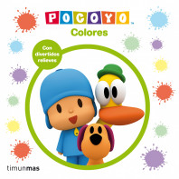Pocoyó. Colores
