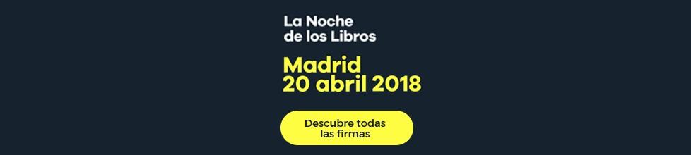 Descubre todas las firmas de los autores en la Noche de los Libros de Madrid