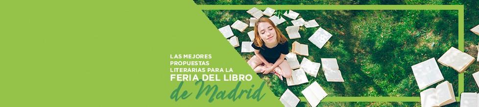 ¡Selección de libros que encontrarás en la Feria del Libro de Madrid!